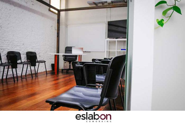 Aula Eslabon Coworking Madrid