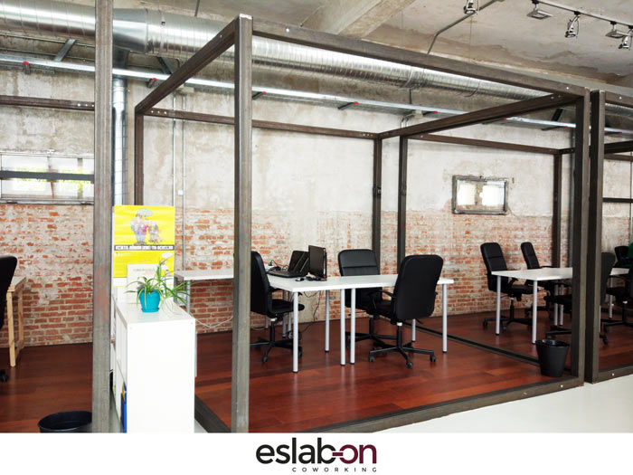Boxes Eslabon Coworking Madrid