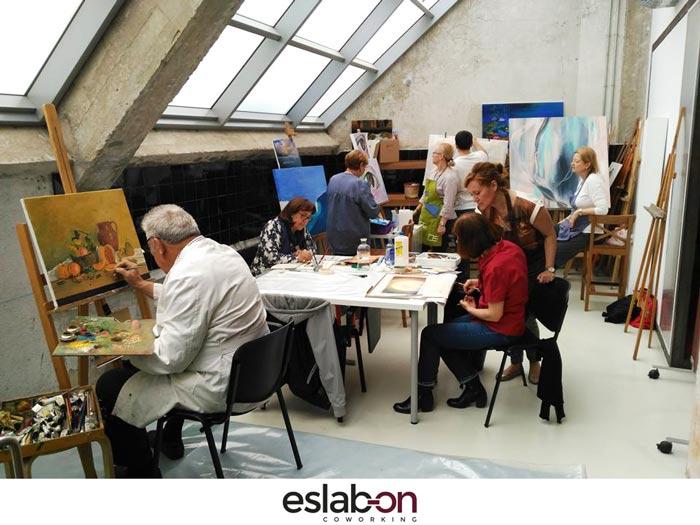 Espacio reuniones Eslabon Coworking Madrid